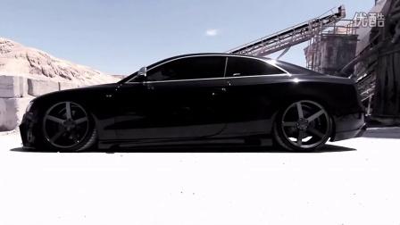 Audi S5 Bagged on 20' Vossen VVS-CV3 Concave Wheels - Rims