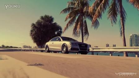 Audi A5 on 20' Vossen VVS-CV2 Concave Wheels - Rims