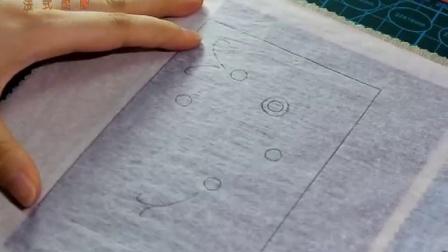 法式绣园立体刺绣教程-拓图-取线(1)