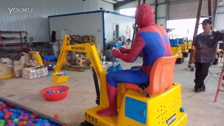 蜘蛛侠上班了