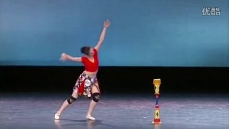 陶艺《舞蹈技巧》瑶族长鼓舞-广西艺术学院