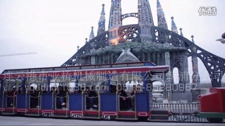 泉城欧乐堡 蒸汽火车 轨道式游园火车 欧式复古火车