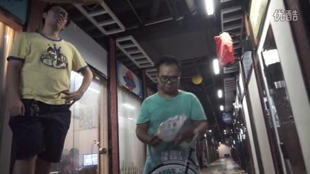 广州演员小肥羊挑战冰桶大战