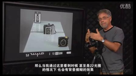【阿甘推荐】一看就会的单反相机的入门基础教学29    景深预览按钮