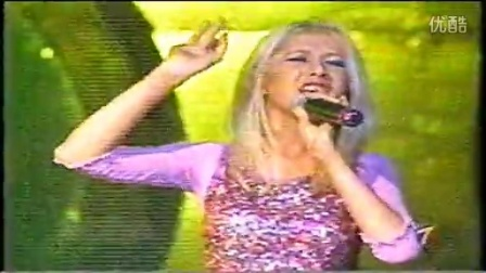 Christina Aguilera Reflection Live Azteca 7 Channel Mexico.