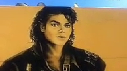 Final portrait Brush Strokes by Levi Ponce on Michael Jackson Mural LA