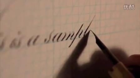 超唯美的英文花体字