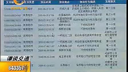 谭谈交通:面包男与卡宴女 CDTV-3红绿灯 每晚7点25分播出_标清