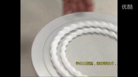 如何给蛋糕裱花 生日蛋糕裱花制作视频