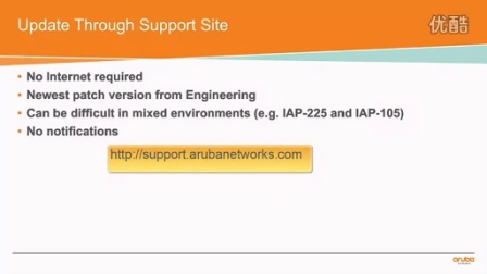 Updating IAP Firmware from Cloud & Support Site