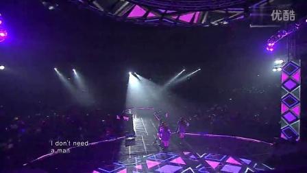 Miss A -我不需要男人 121111 SBS 演唱会