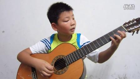 中国音协古典吉他考级视频.四级(江西樟树余俊楠)