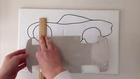 麦昆翻糖蛋糕制作Cars Cake Tutorial