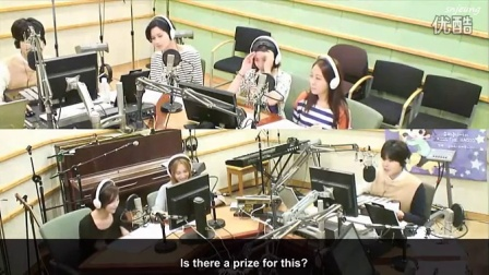 140825 Kiss the Radio - SunnyHill Call Out to JeA Cut (ENG)