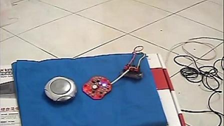 录证双咪头原声拾音器K5回放效果 监控集音器音效 防暴监听头 识音器