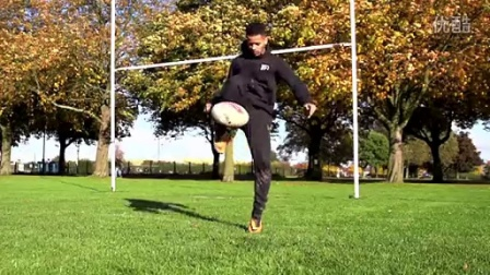 英国花式足球达人组合F2视频- Rugby!!!
