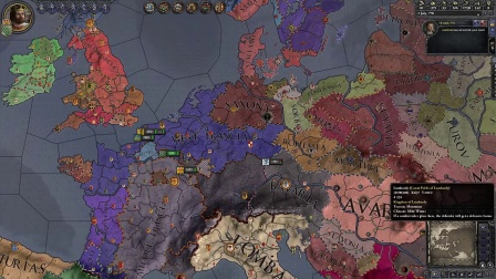 Crusader Kings_2 - Charlemagne Features. Part 3