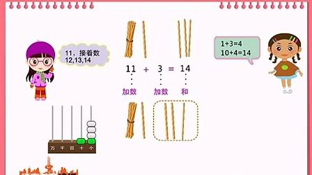 二年级上册数学不进位加法和不退位减法_标清