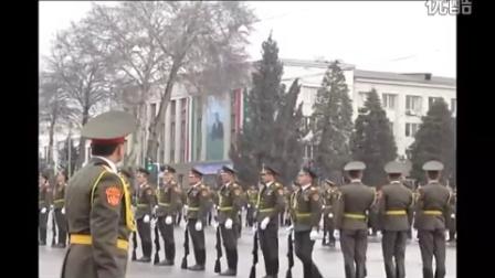 2013年2月23日塔吉克斯坦杜尚别阅兵