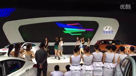 2014成都车展北京现代韩国妹纸表演NONONO完整版