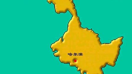 中国省级行政区轮廓