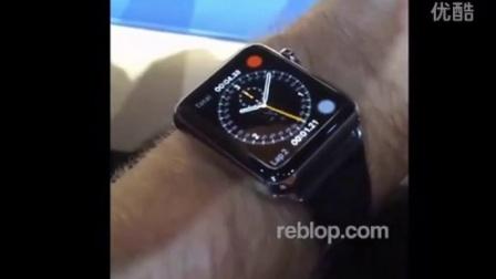 苹果发布会 APPLE WATCH  程序运行体验