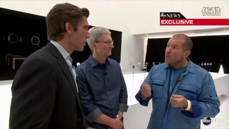 John Ive (乔纳森)谈Apple Watch  From ABCnews