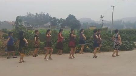 黄山蓝玫瑰广场舞美丽的七仙女_