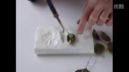 Shaping silk leaves complete tutorial in somebana technique