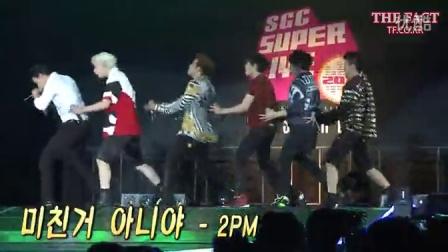 【ForKhun转载】140913 SCG SUPER LIVE IN SEOUL 2014 2PM GO CRAZY Nichkhun 尼坤