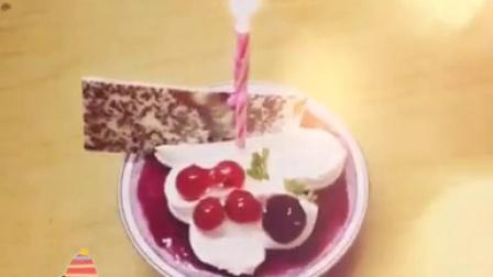 小媳妇微型生日蛋糕