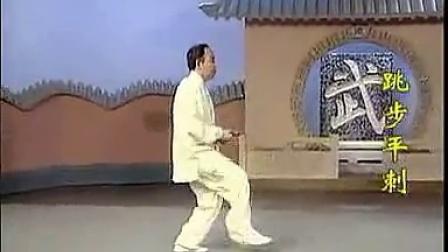 李德印32式太极剑背向演练女声口令版_标清