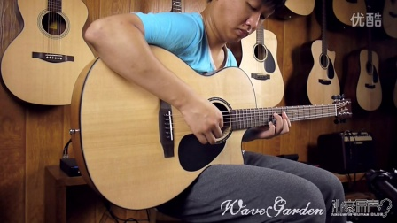 WaveGarden wg220gac 新款 单板吉他评测 沁音原声录制