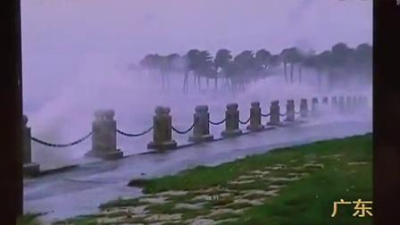 追击台风海鸥——12时45分海鸥二次登陆广东,首席介绍登陆情况