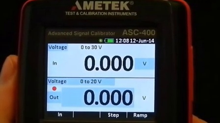 How to set up the ASC-400 process signal calibrator from JOFRA