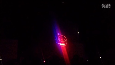 东风汽车公司2015集团校园招聘启动仪式--激光画
