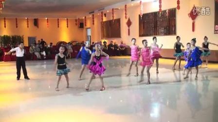 16团体拉丁舞-盘锦市兴和拉丁舞培训班