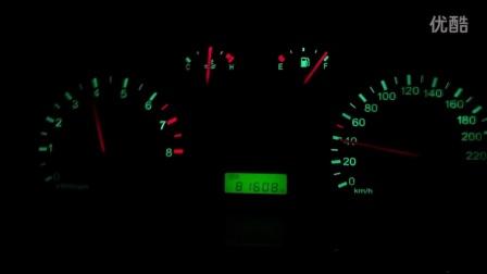 圣达菲1.8T手豪,小试加速,0~100,2