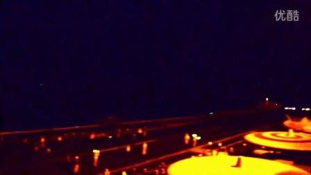 美军FA18航母起飞 夜袭叙利ISIS