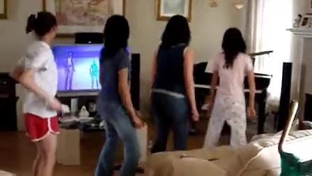 【Youtube奇趣精选】四妹子同步开跳Wii舞 药不能停啊