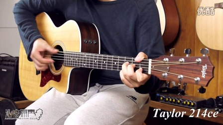 Taylor 214ce and Wavegarden wg260gac 吉他对比评测