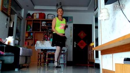 双琴学跳广场舞《跳到北京》