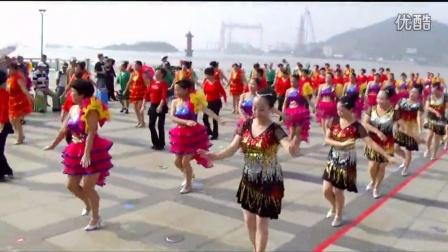 """舟山市定海区""""庆重阳,迎国庆""""中老年排舞比赛开幕式!"""