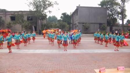 灞桥核锻社区石榴花舞蹈队-广场舞串烧《健身操》《跑马山情思》