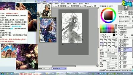 CG绘画教程CG动漫教程-如何设计动漫人物