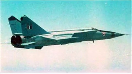 苏联空军的辉煌:米格-25战斗机