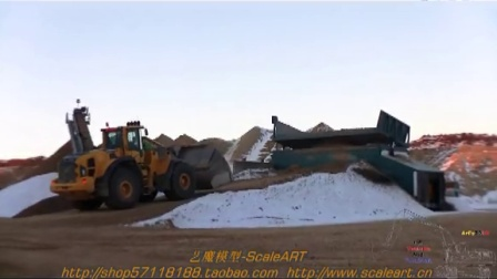 Volvo L250G 沃尔沃装载机 Working On A McCloskey S190 Screener