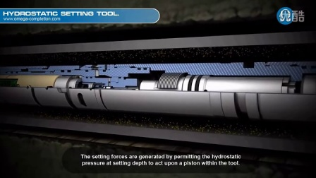 Omega Completion Technology- Downhole Tools- Hydrostatic Setting Tool.