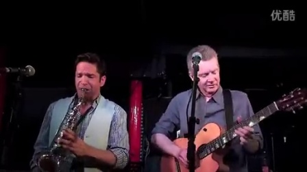 Peter White and Dave Koz Unplugged- playing 'Here We Go'- Pizza Express 2012