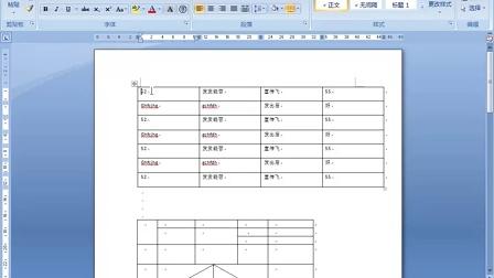 办公软件基础视频教程第4课表格制作和处理